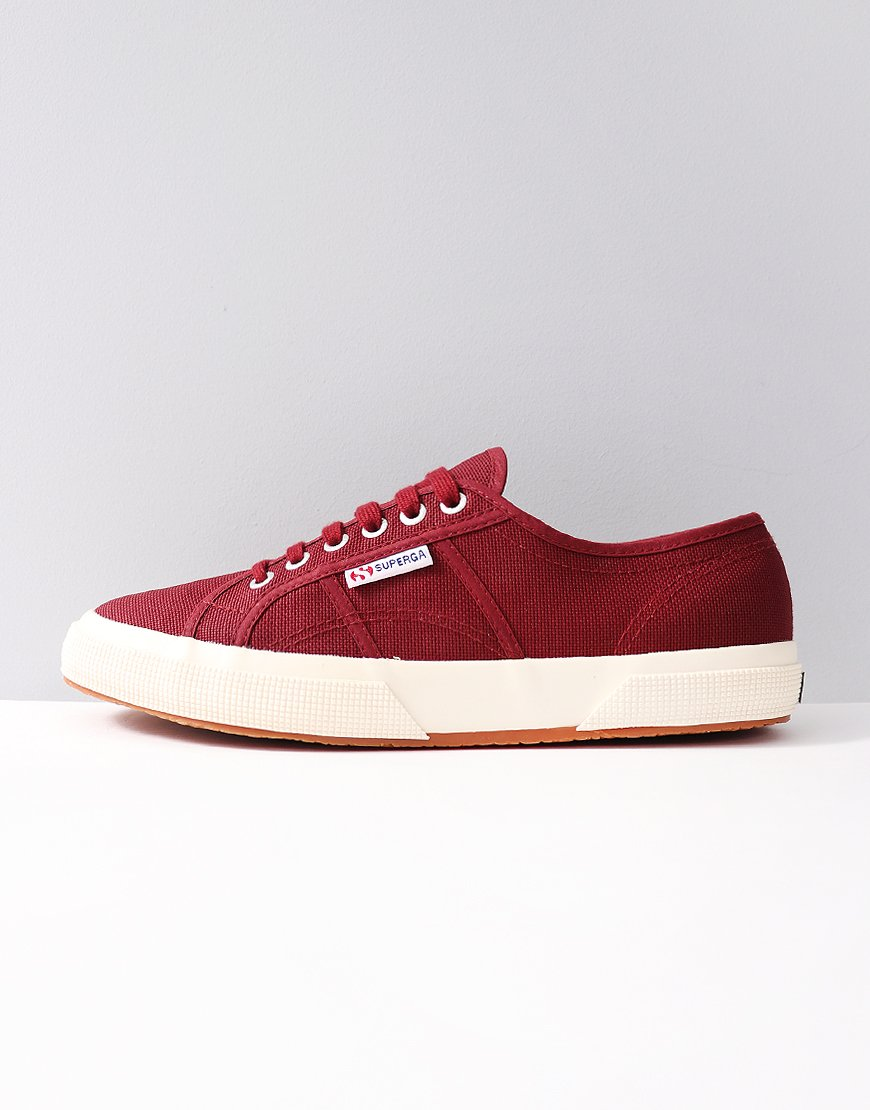 Superga Cotu Classic 2750 Canvas Trainers Bordeuax