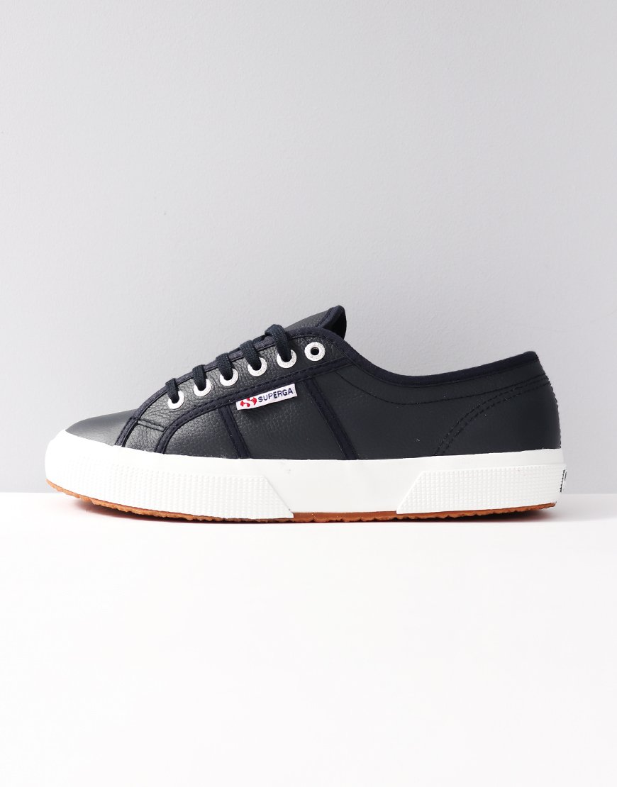 77dfe3f2b947 Superga 2750 EFGLU Navy - Terraces Menswear