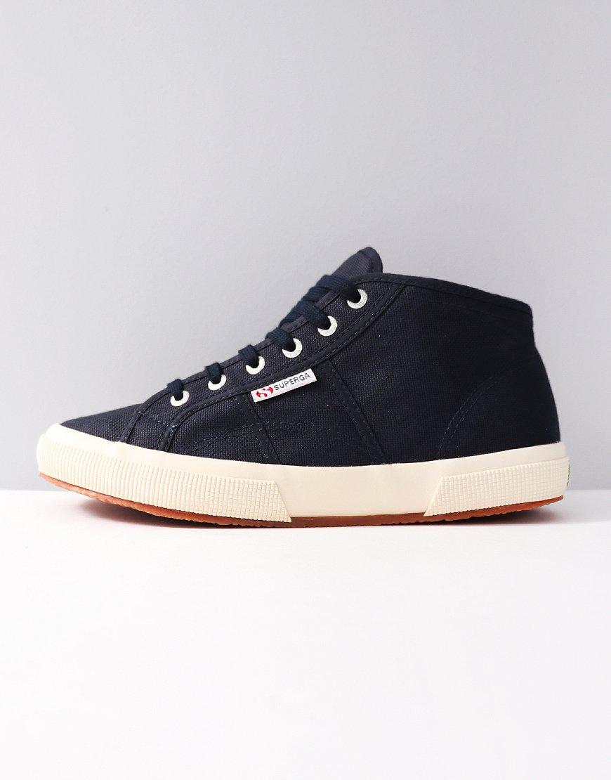 Supergar Cotu 2754 Canvas Trainers Navy