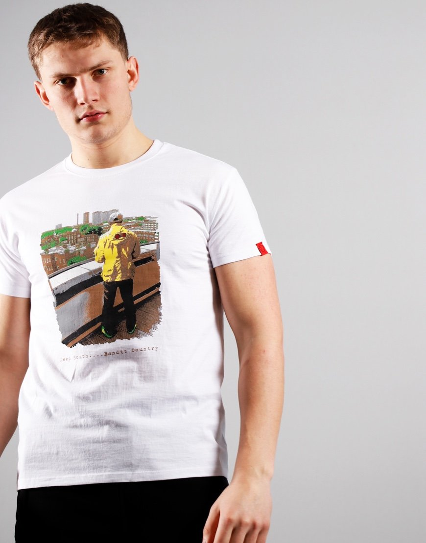 Eighties Casuals Deep South T-Shirt White