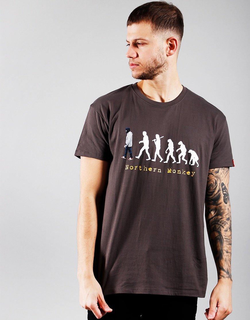 Eighties Casuals Northern Monkey T-Shirt Grey