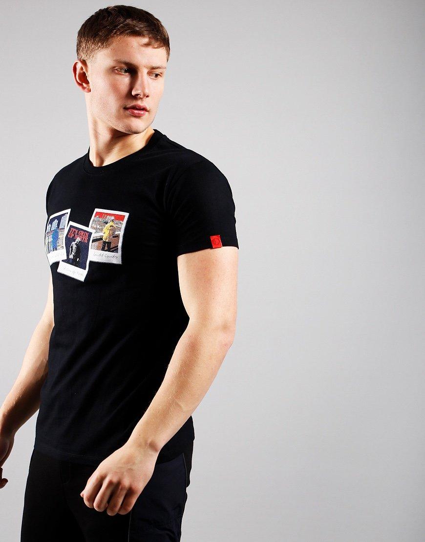 Eighties Casuals Polaroids T-Shirt Black