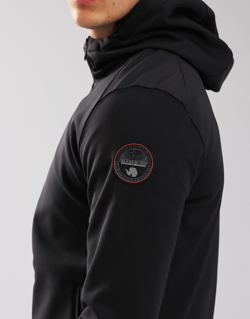 Napapijri Addison Soft Shell Jacket Black