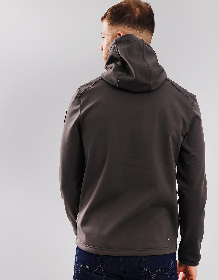Terraces Addison Grey Menswear Jacket Shell Soft Napapijri Solid q5tAPw