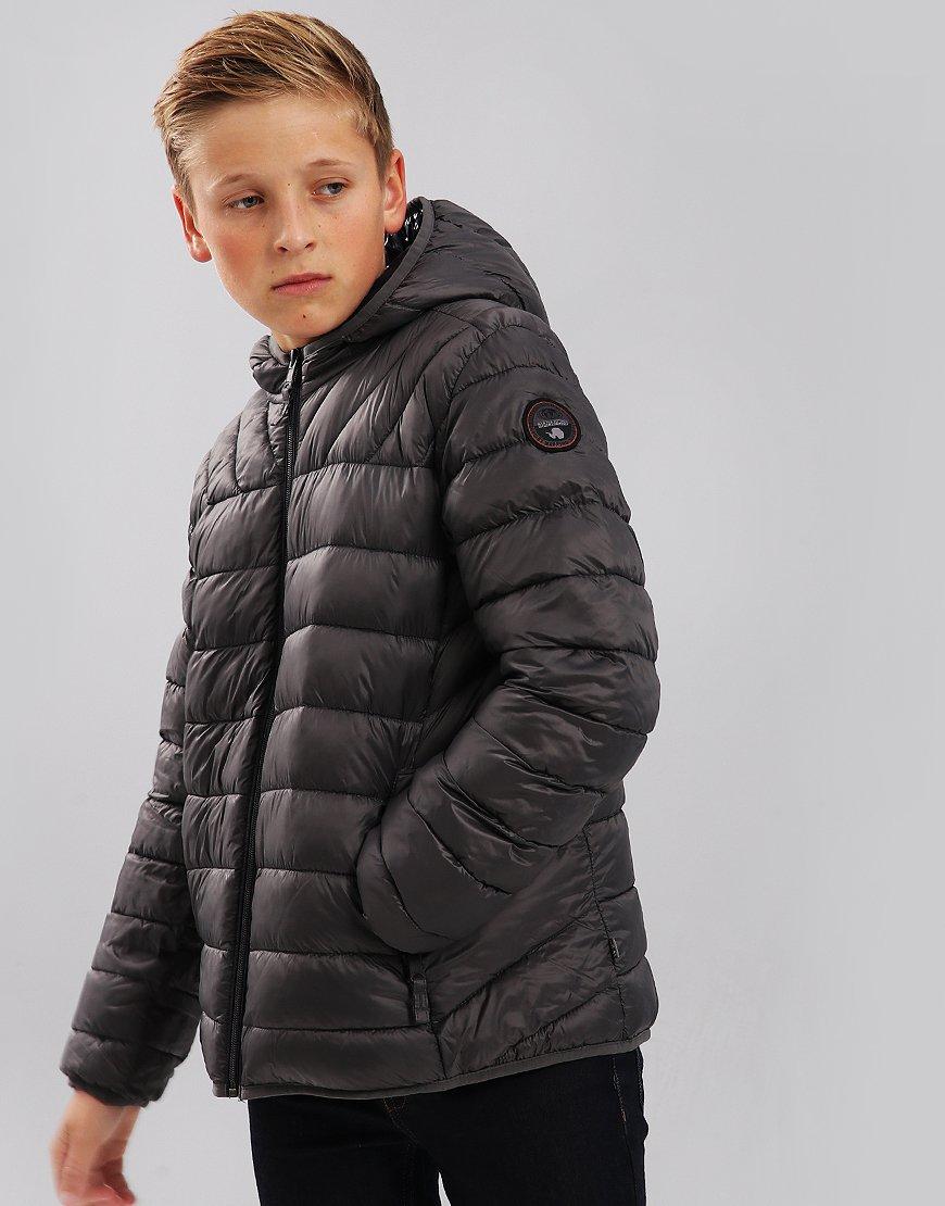 Napapijri Kids Aerons Jacket Dark Grey Solid