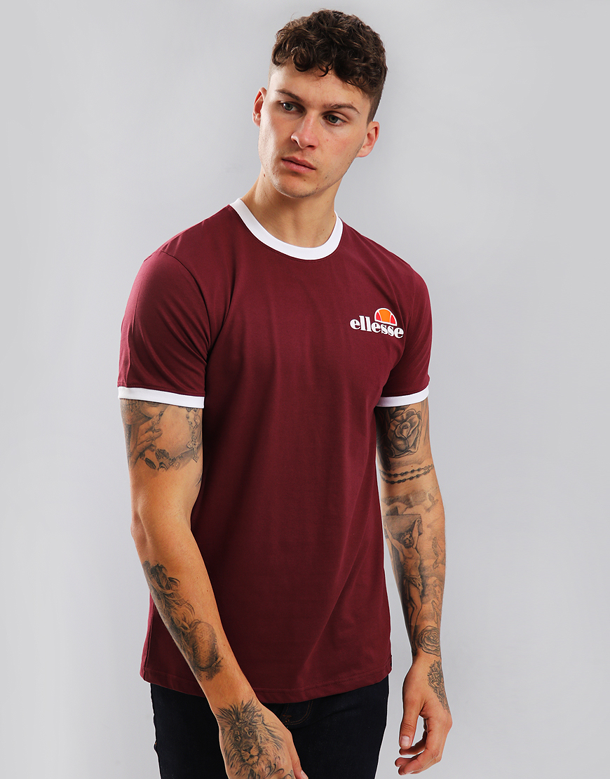 Ellesse Agrigento T-Shirt Zinfandel