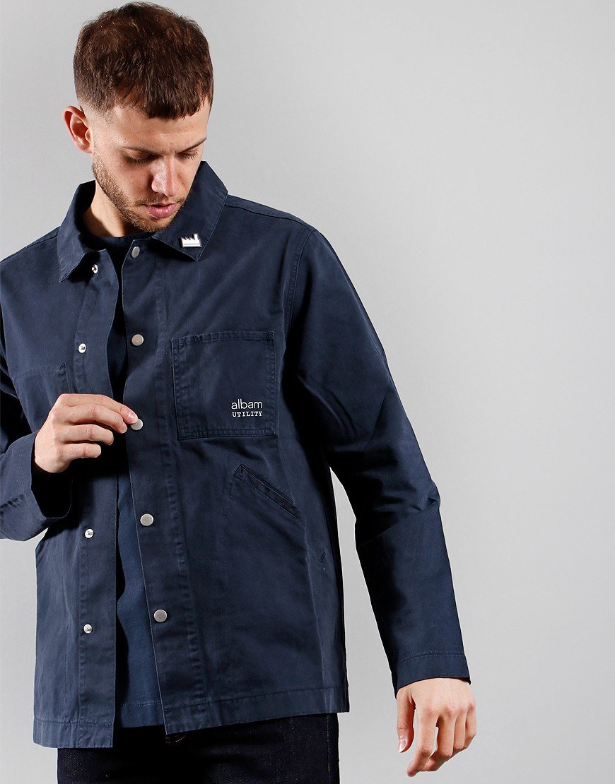 Albam Factory Jacket Navy