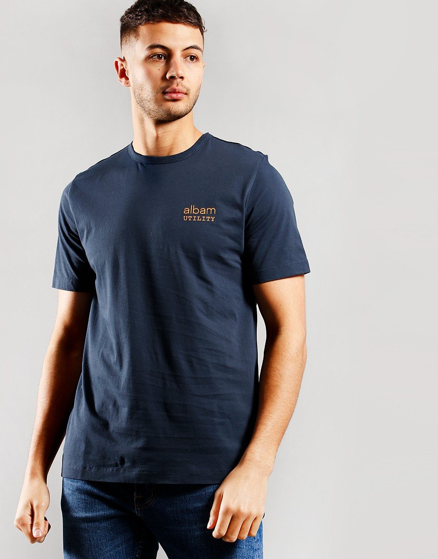 Albam Utility Graphic T-shirt Navy