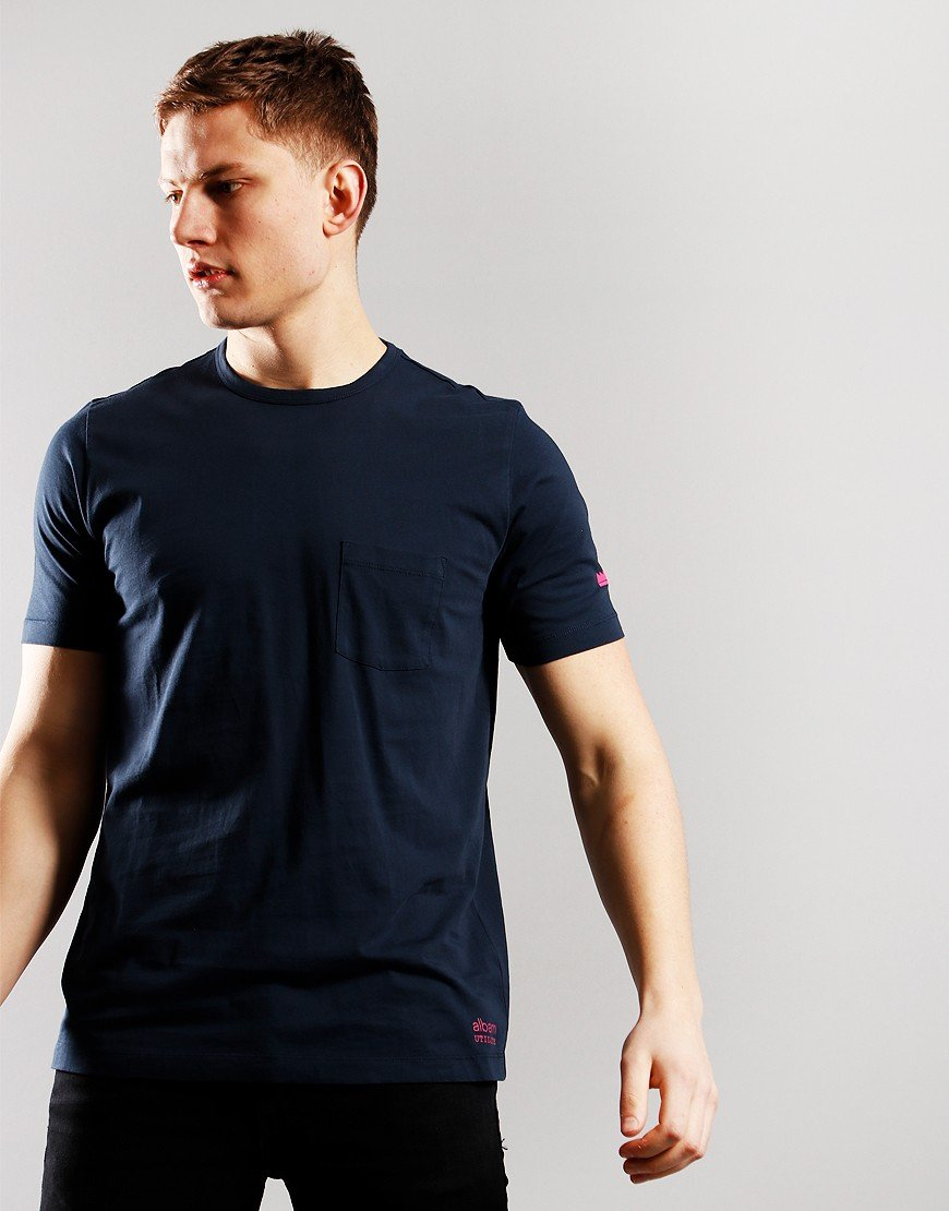 Albam Pocket T-Shirt Dark Navy