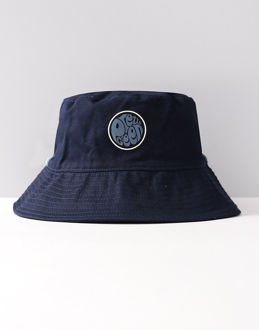 Pretty Green Albion Bucket Hat Navy