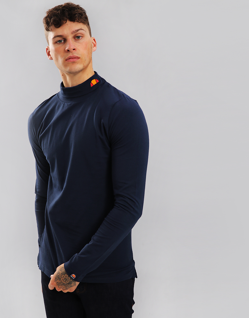 Ellesse Amica Roll Neck Top Dress Blues