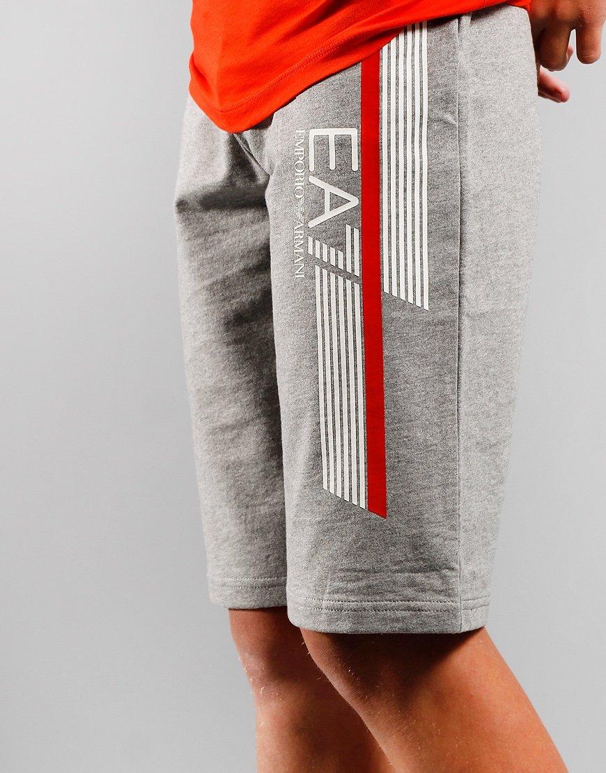 EA7 Kids Sweatshort  Med Grey Melange