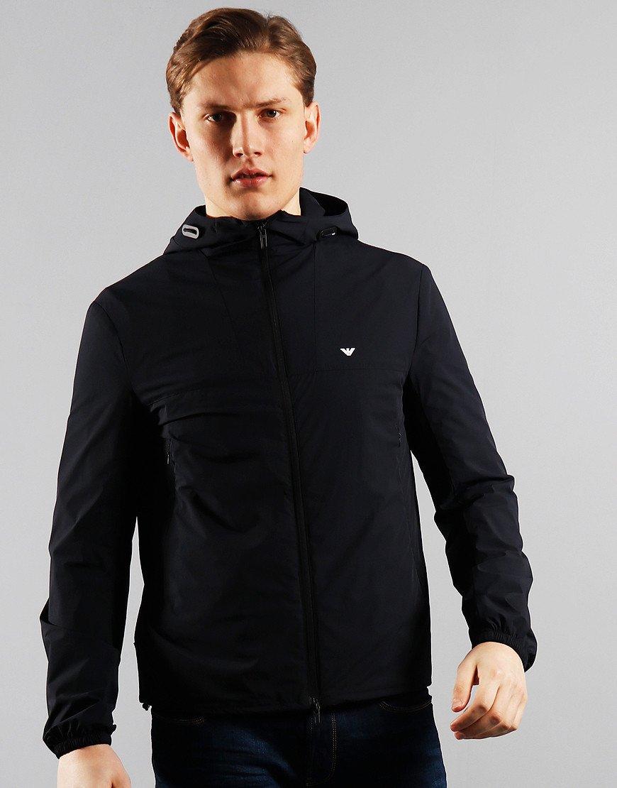 Emporio Armani Hooded Jacket Navy