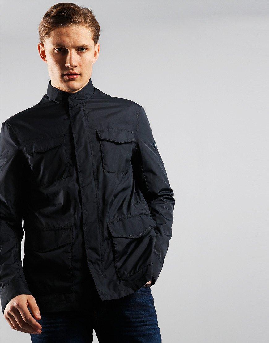 Emporio Armani Pocket Front Jacket Navy