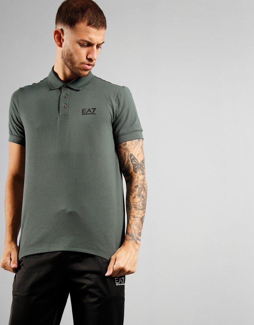 EA7 Chest Logo Polo Shirt Urban Chic