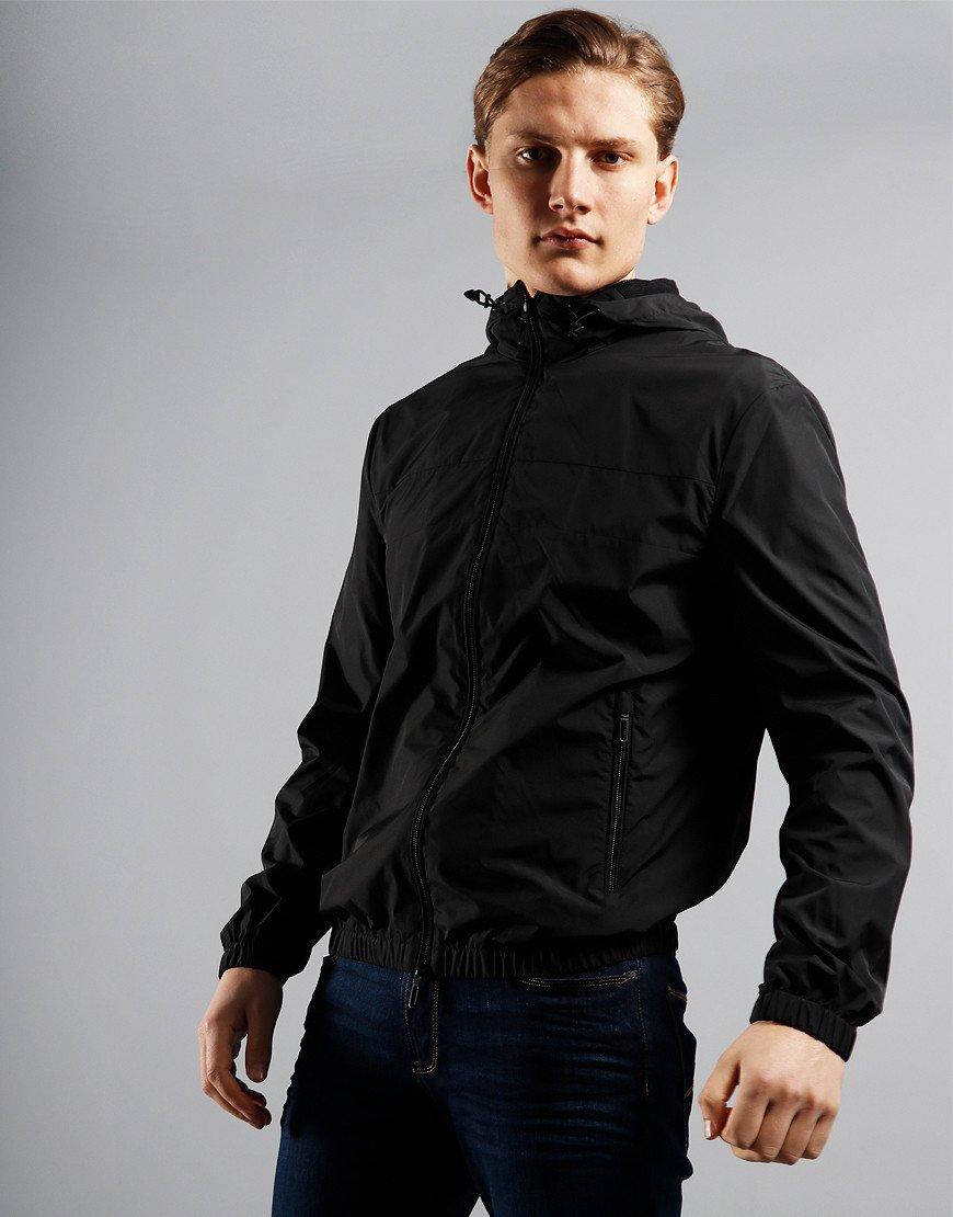 Emporio Armani Back Logo Jacket Black