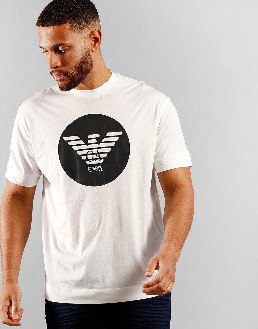 Armani Circle Logo T-Shirt White