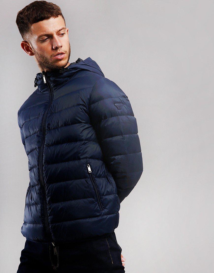 Emporio Armani Down Jacket Blue