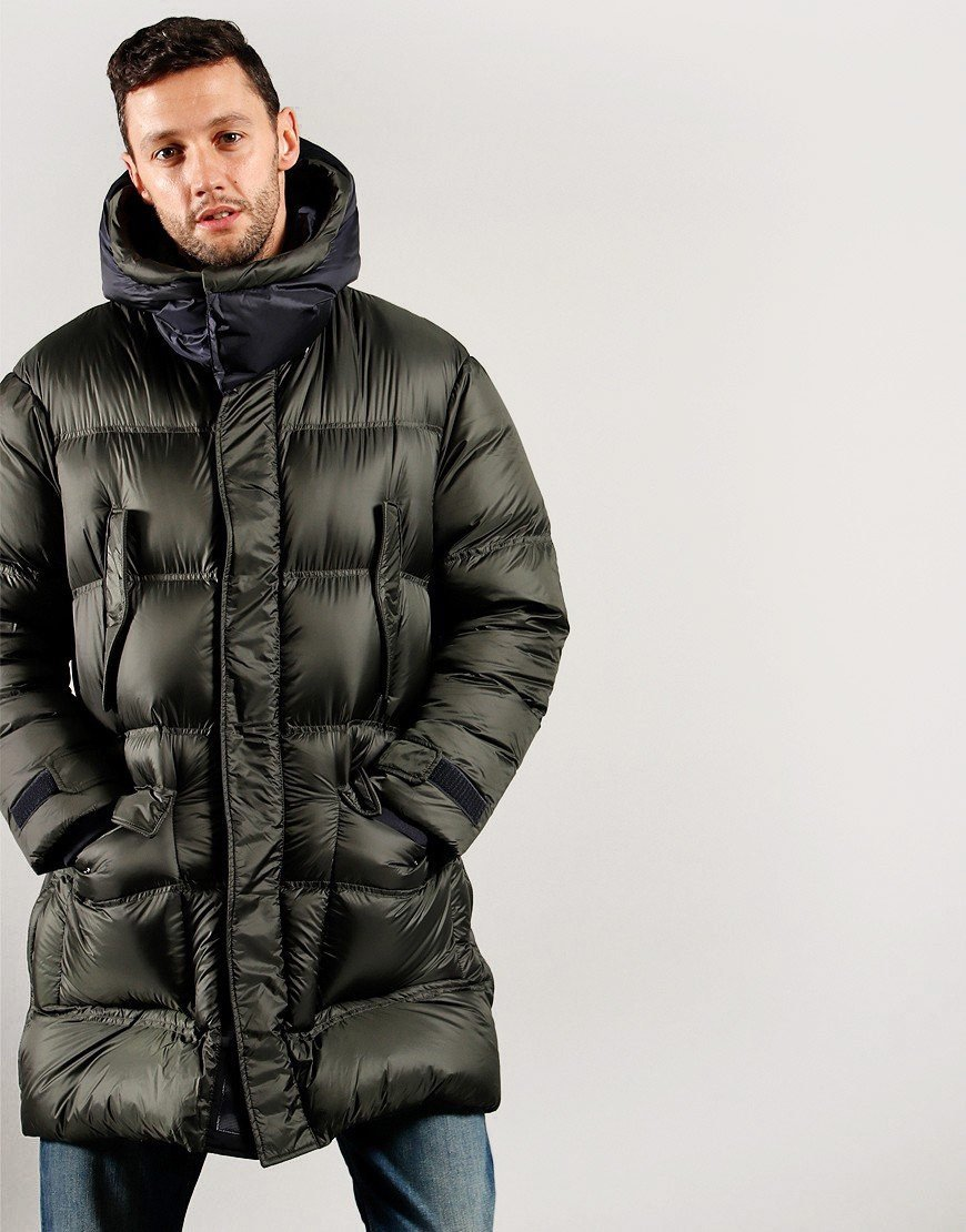 Emporio Armani Down Jacket Military Green