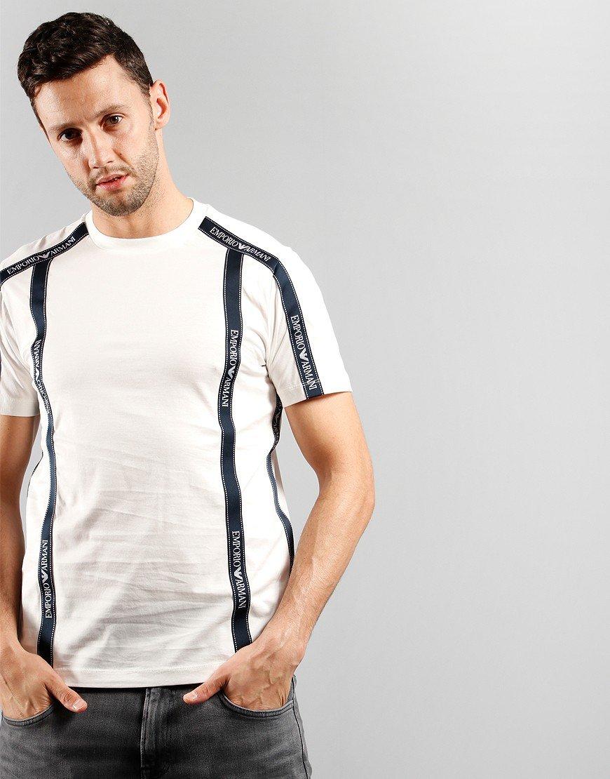 Emporio Armani EA Tape T-Shirt White