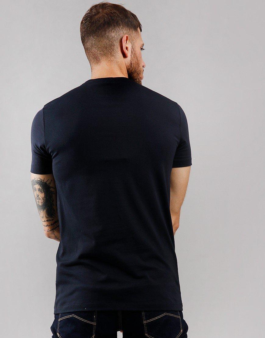 Emporio Armani Graphic Eagle Print T-Shirt Navy