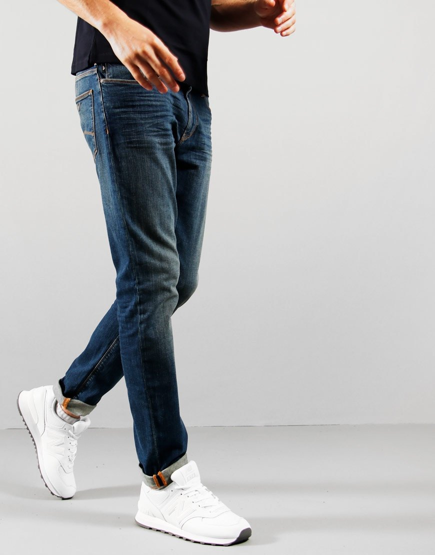 Emporio Armani J06 Slim Fit Jeans 1V0MZ Denim