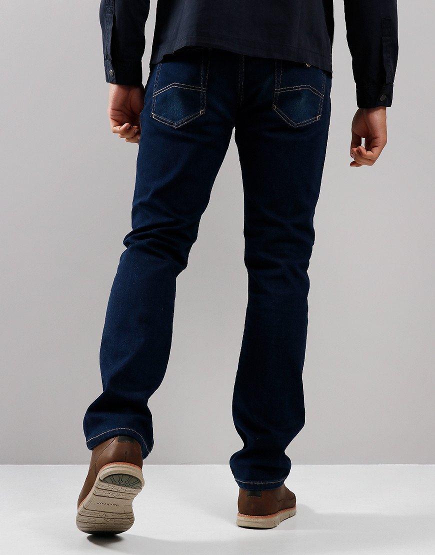 Emporio Armani J15 1DLRZ Regular Fit Jeans Denim Blue