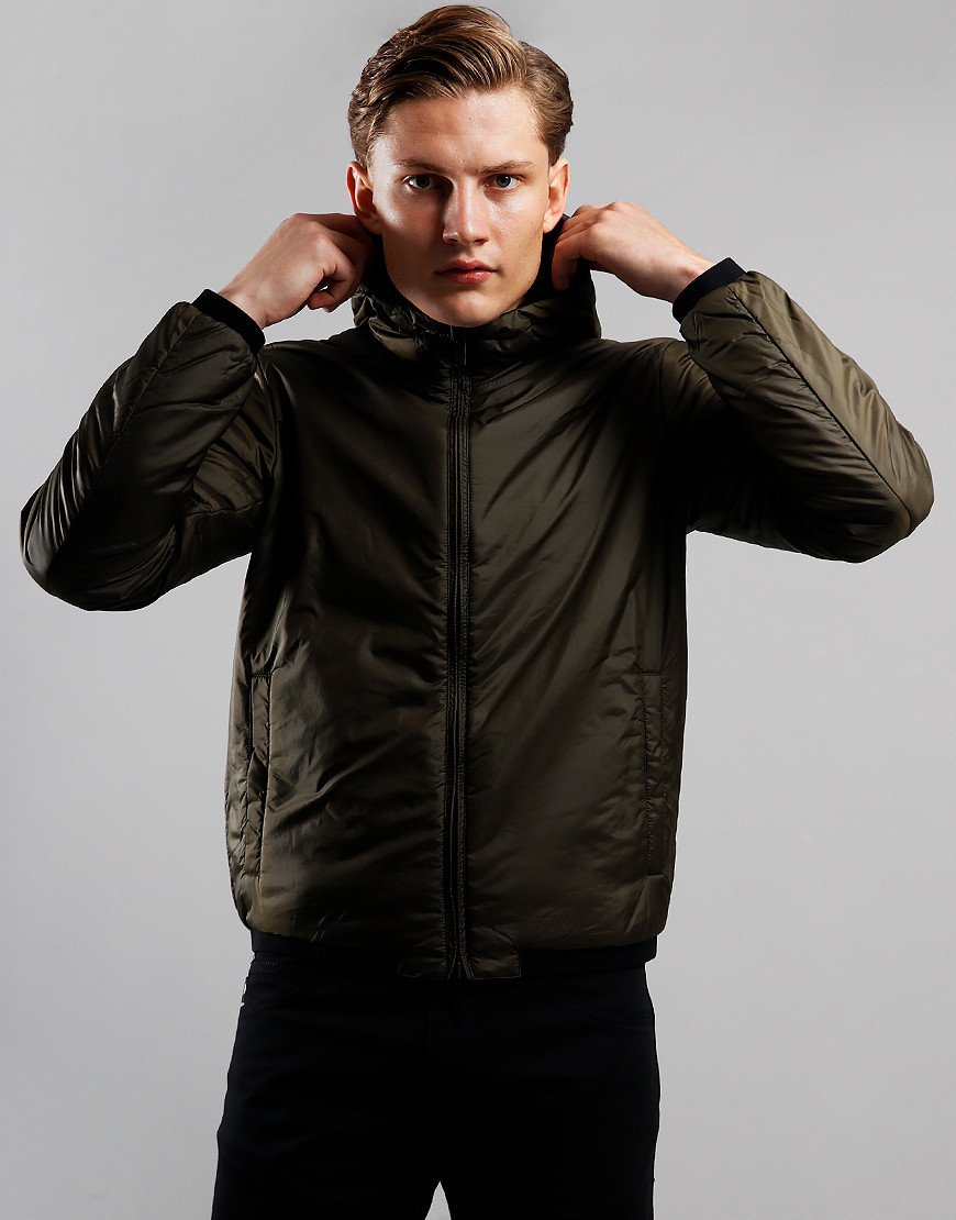 Emporio Armani Reverse Padded Jacket Black