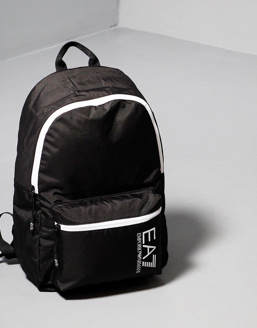 EA7 Tipped Backpack Black