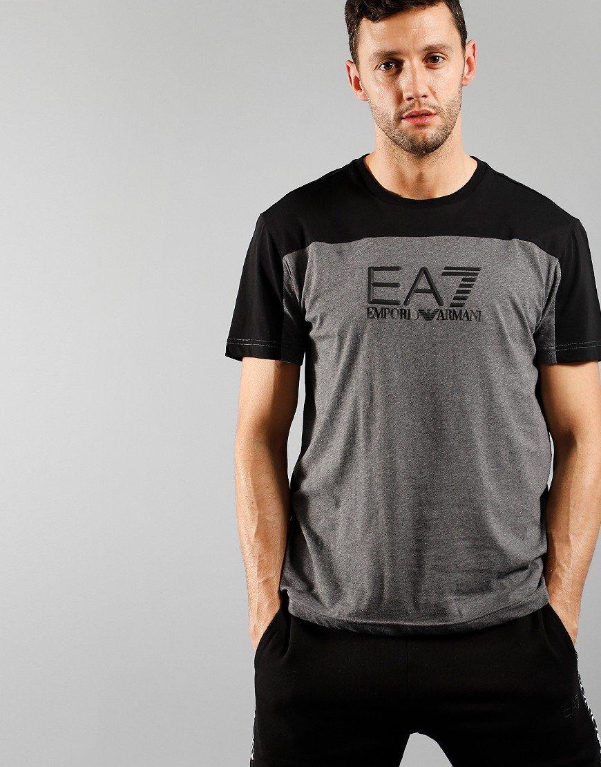 EA7 Dark Grey Merlange T-shirt