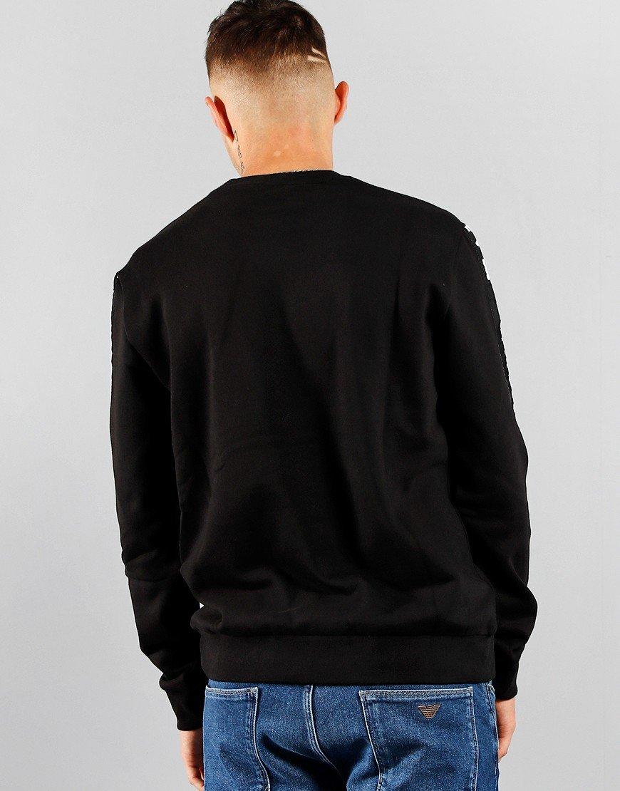 EA7 Jersey Sweat Black