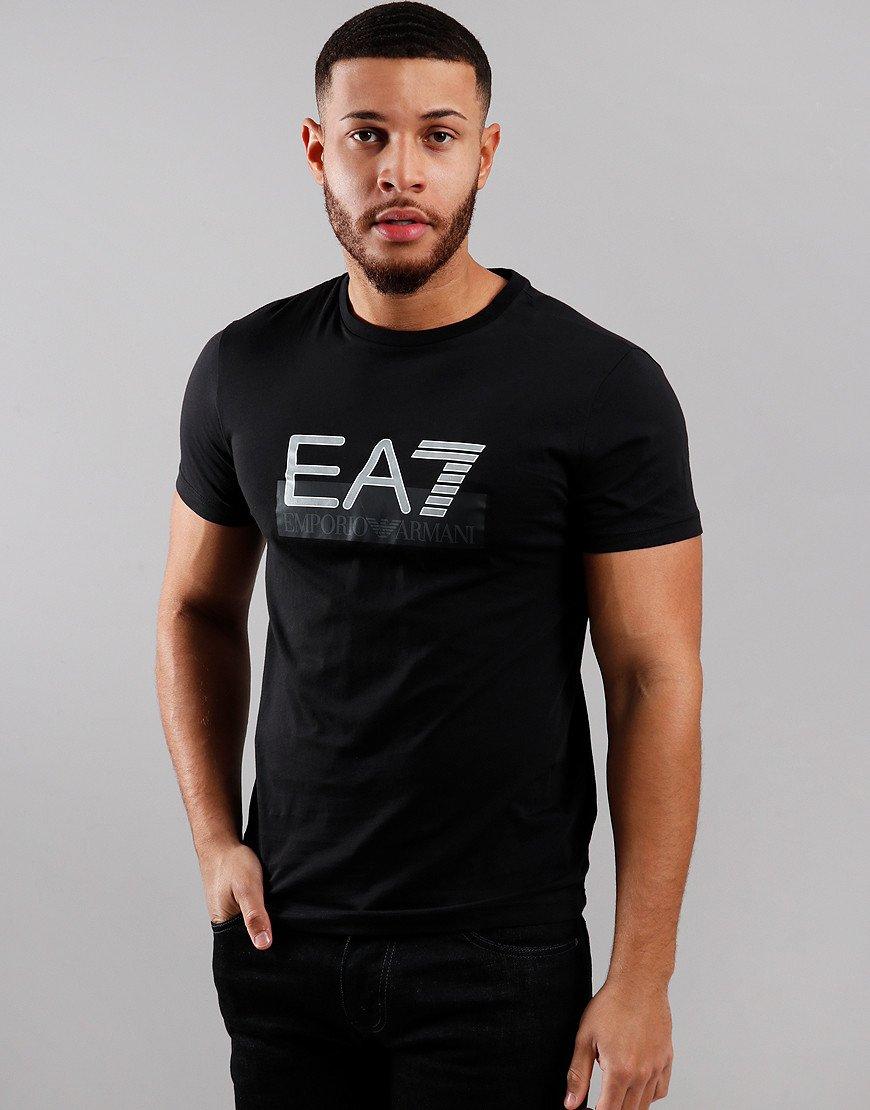 EA7 Large Logo T-Shirt Black