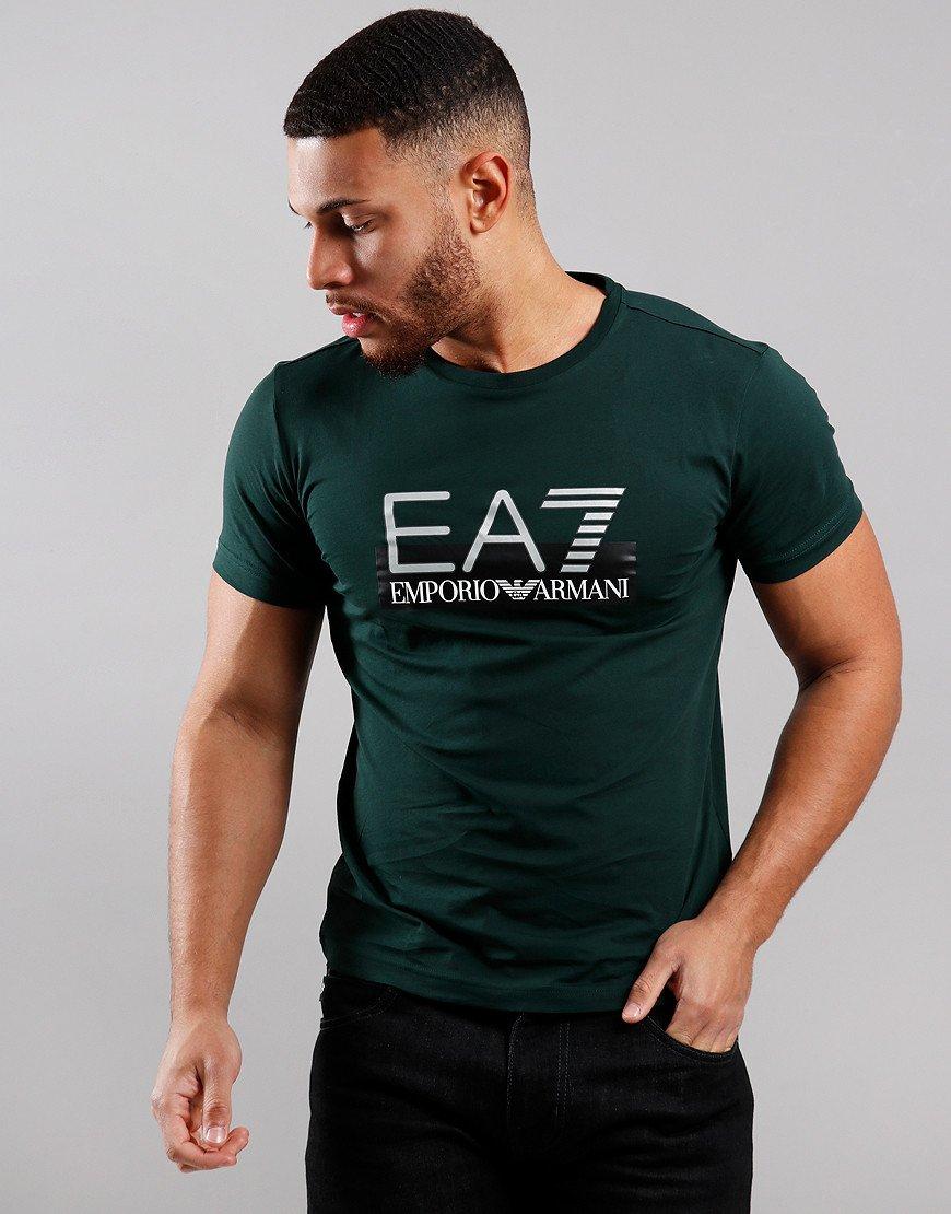 EA7 Large Logo T-Shirt Scarab