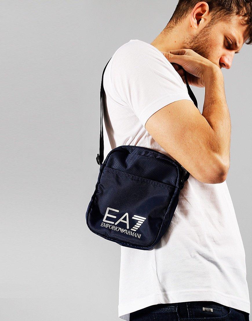 EA7 Nylon Crossbody Bag  Night Blue