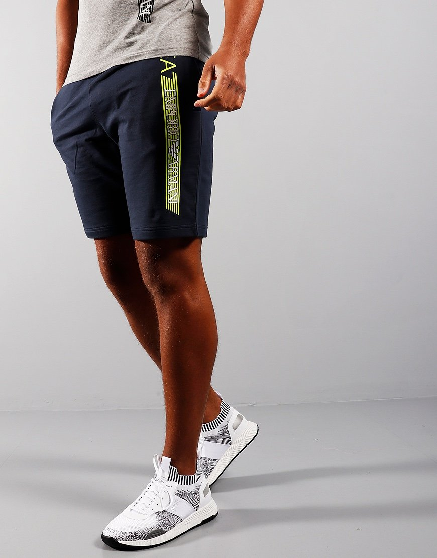 EA7 Jersey Sweat Shorts Navy