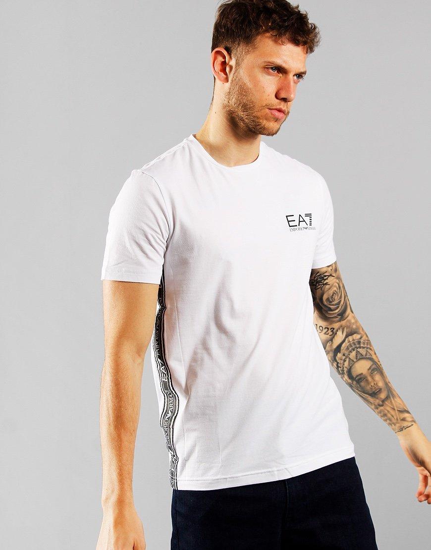 EA7 Chest Logo T-shirt  White