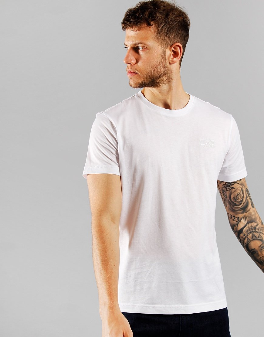 EA7 Small Logo T-shirt  White