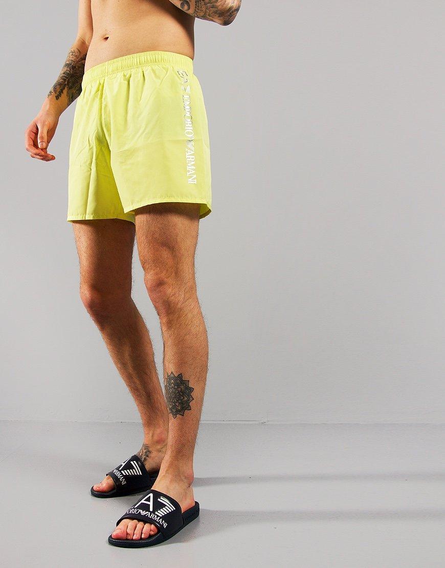 EA7 Reflective Logo Swim Shorts Sorbet