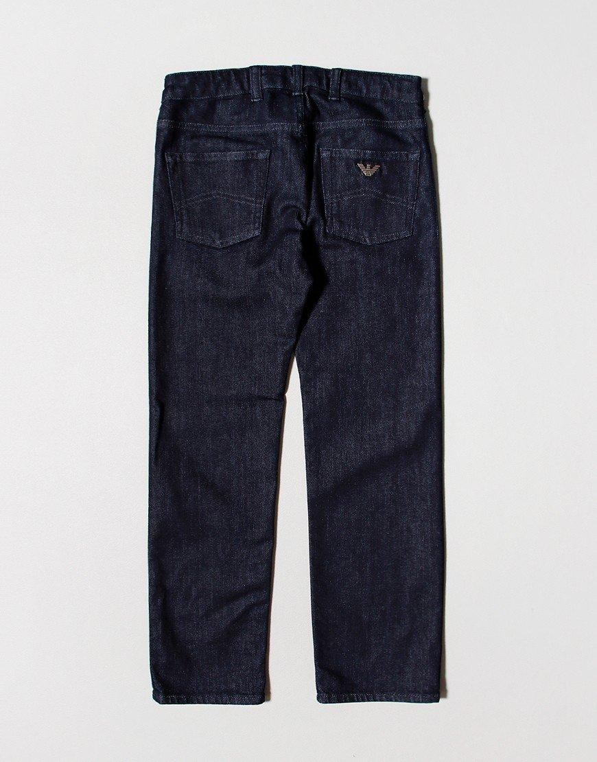 Emporio Armani J45 Regular Fit Jeans Denim