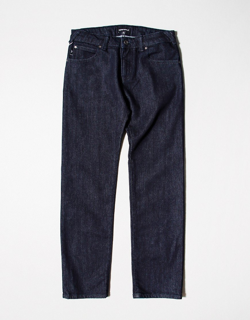 Emporio Armani J45 Regular Fit Jeans Denim