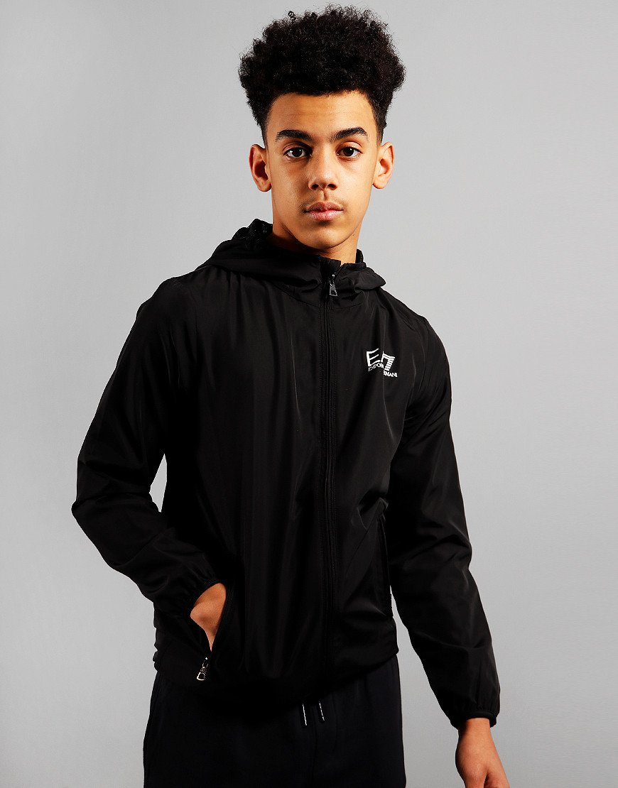 EA7 Kids Bomber Jacket Black