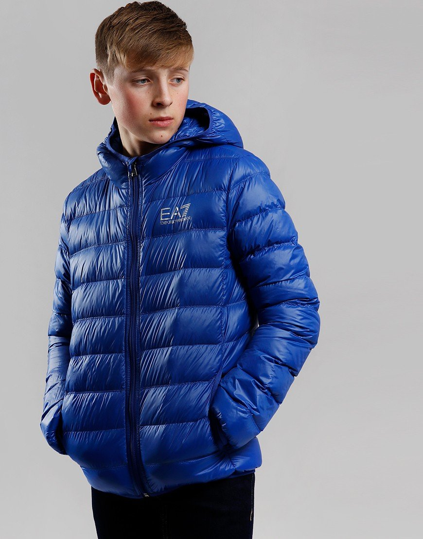 EA7 Kids Down Padded Jacket Mazarine Blue