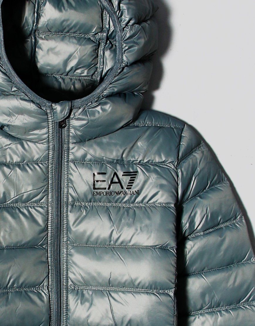 EA7 Kids Hooded Puffer Jacket Urban Chic
