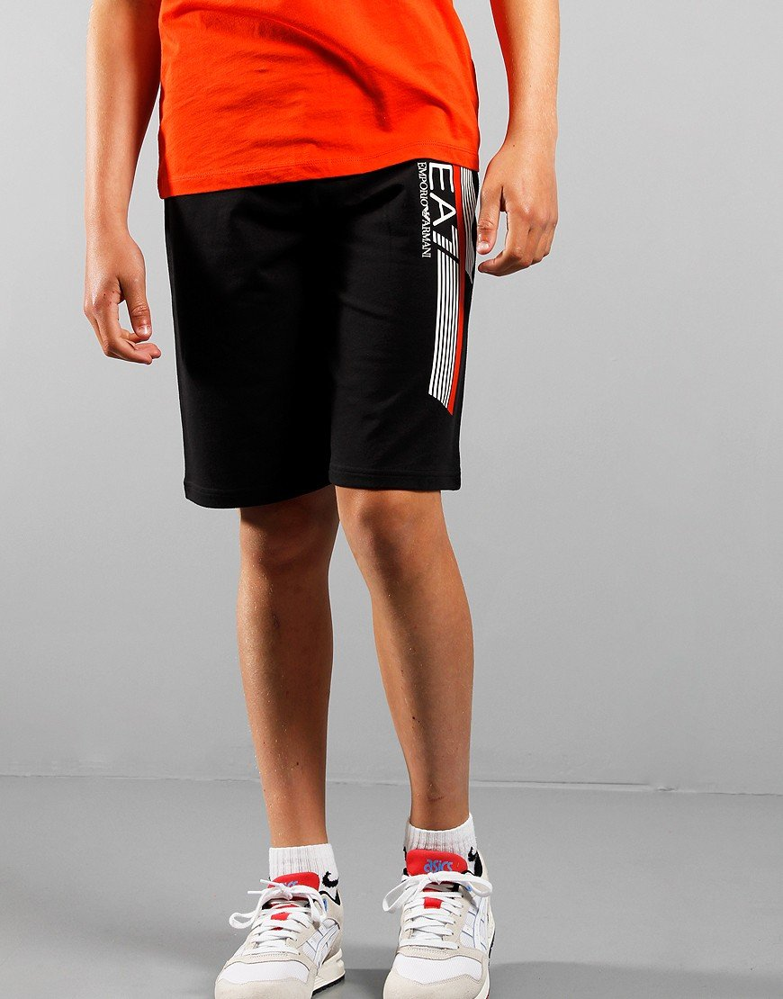 EA7 Kids Sweatshort Black