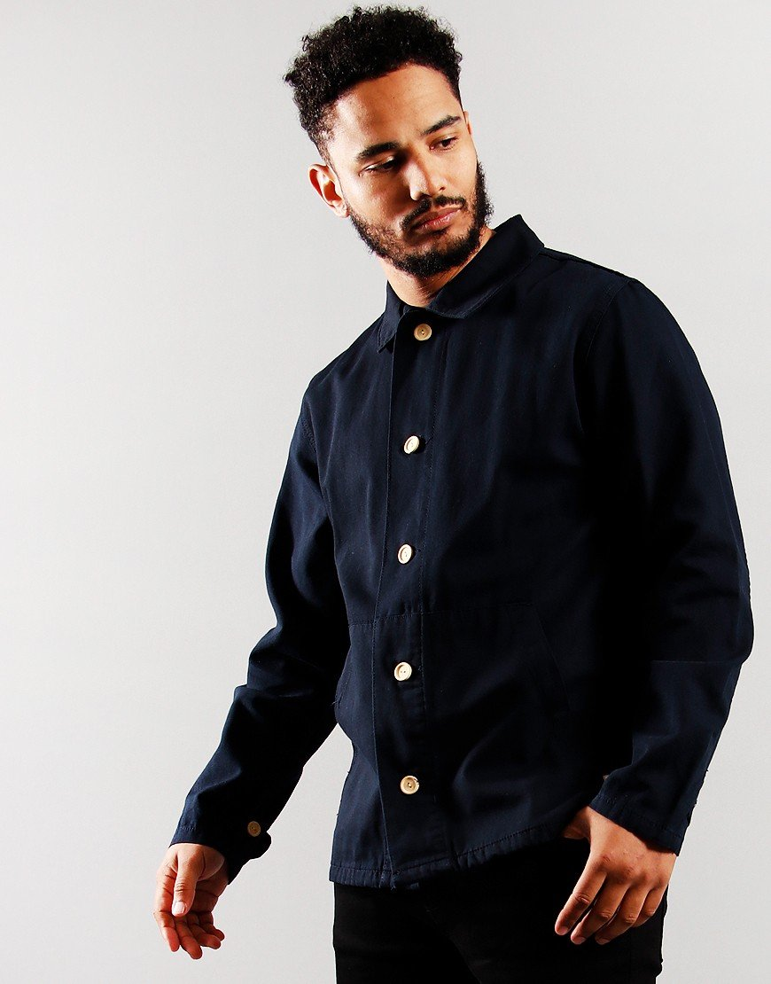 Armor Lux Fisherman Overshirt Navy