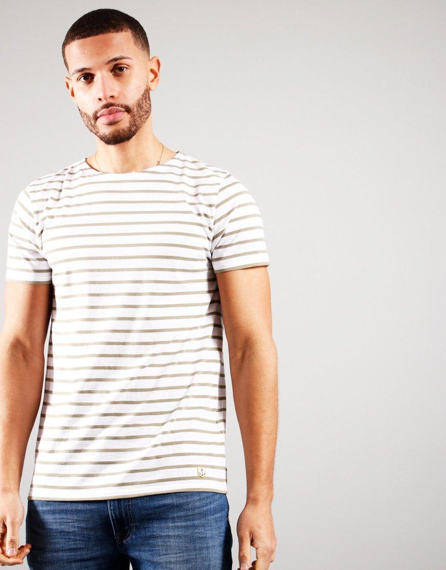 Armor Lux Sailor T-Shirt White/Fern