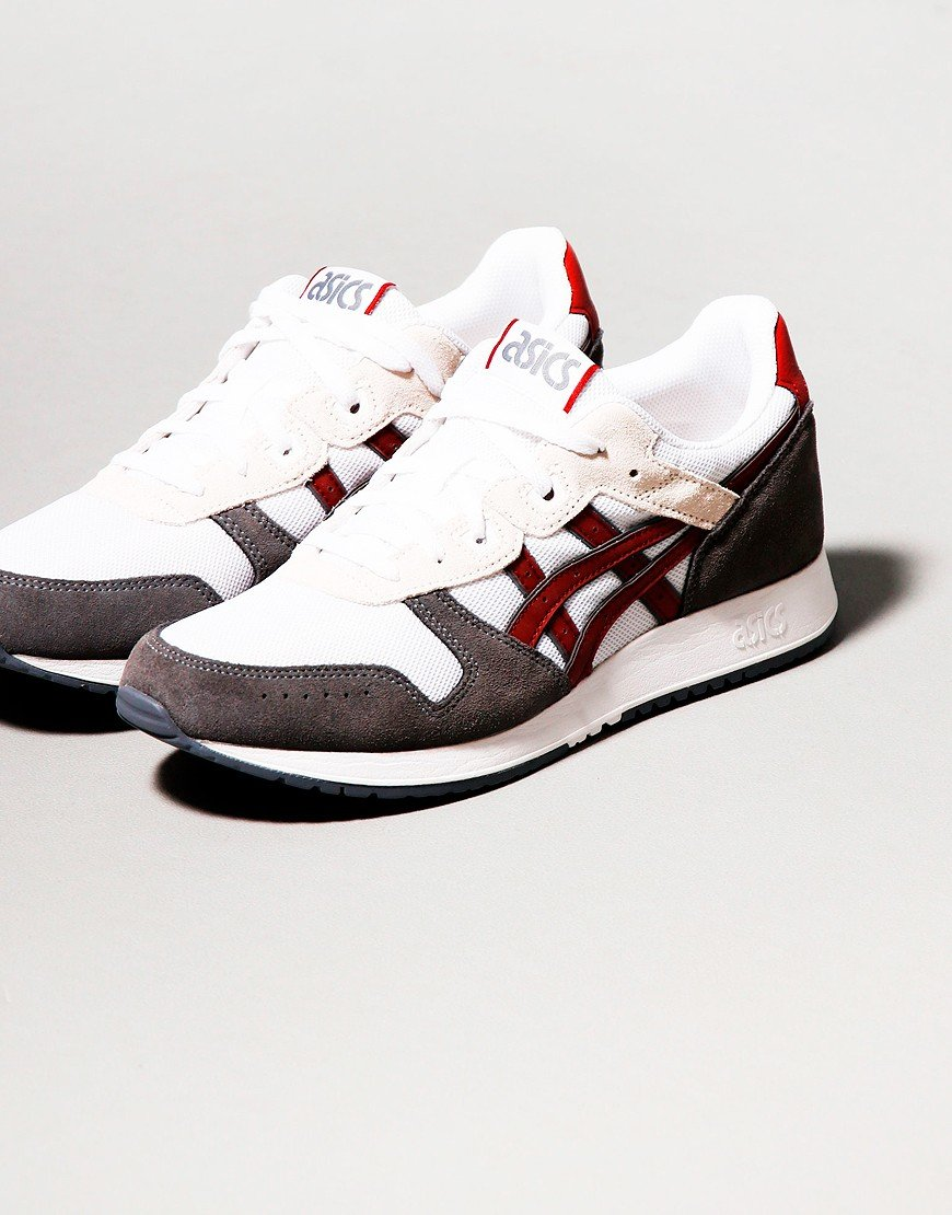 Asics Lyte Classic Trainers White/Beet Juice