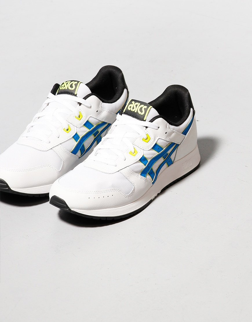 Asics Lyte Classic Rock Trainers White/Electric Blue