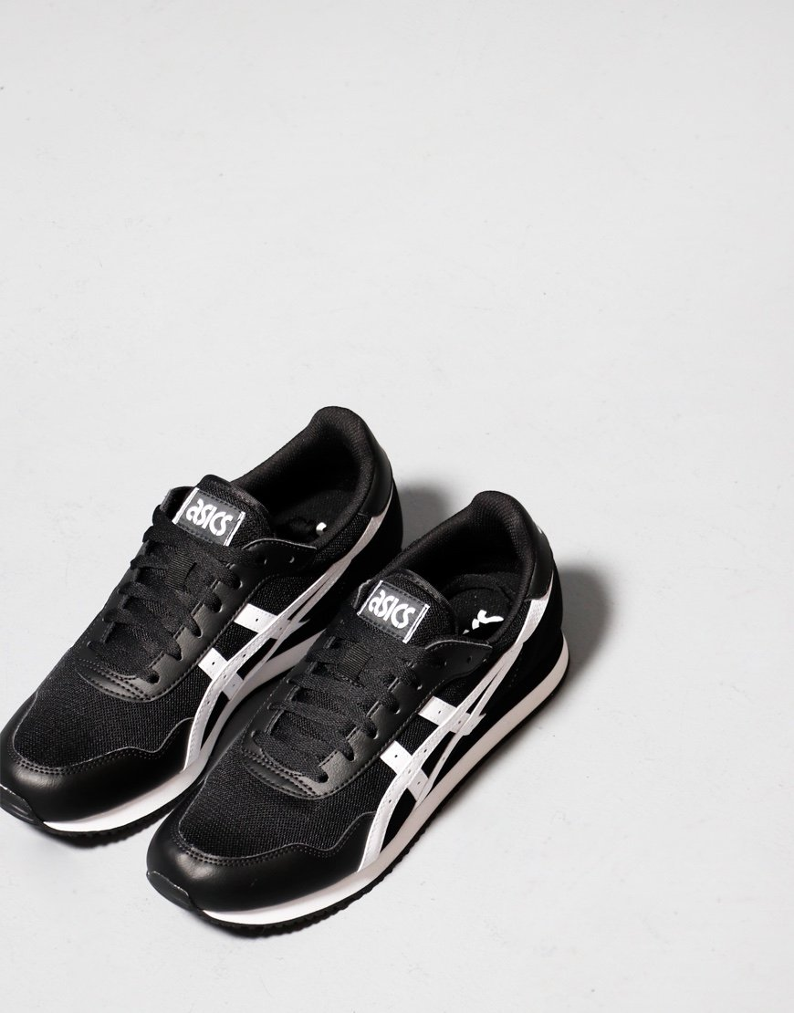 ASICS Tiger Runner Trainers Black/White