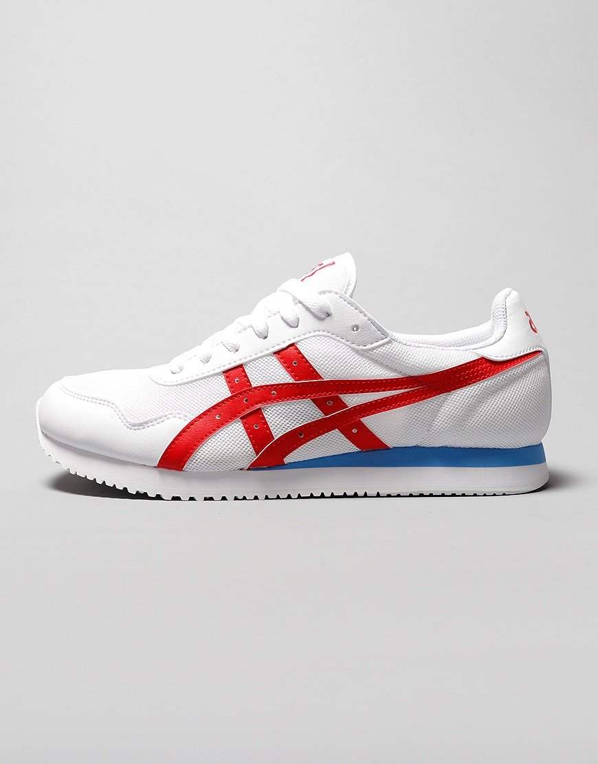 ASICS Tiger Runner Sneakers White/Classic Red